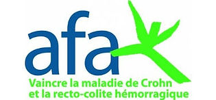 logo de l'association afa qui lutte contre la maladie de crohn