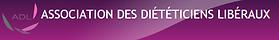 Logo Association des diététiciens libéraux à laquelle fait partie Céline Gaboriau Fournies
