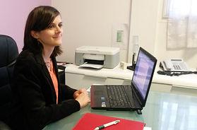Céline Gaboriau dans le cabinet