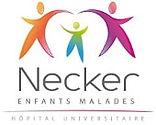 enseigne colorée de l'hôpital pédiatrique Necker de Paris