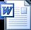 icone microsoft word | document téléchargeable qui présente le cabinet diététique