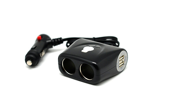 Cliff-Top™  Multi-Socket Car Charger (Cable Extention)