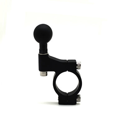"""Cliff-Top Motorcycle 1 1/4'' Handlebar Mounting Base with 1"""" Ball (1.3 cm Wide)"""