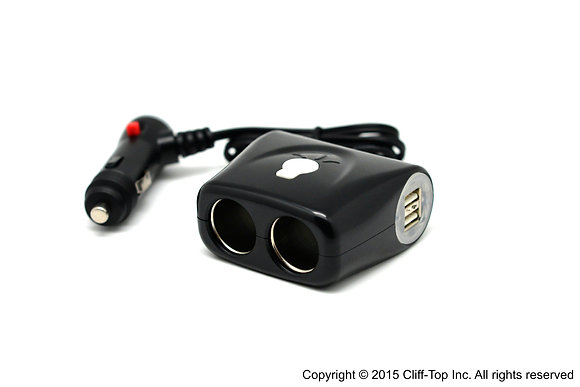 Cliff-Top™  Multi-Socket Car Charger (Extended)