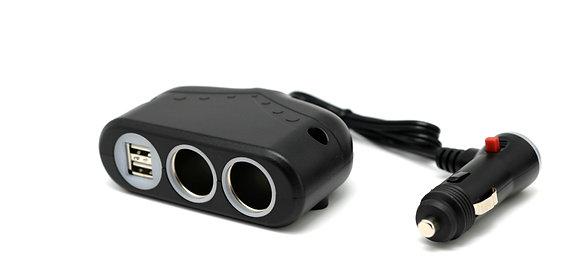 Cliff-Top™ 12-36v / 10Amp Multi-Socket Car Charger