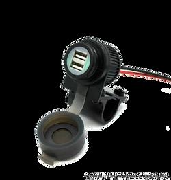 Motorcycle Handlebar USB Charger