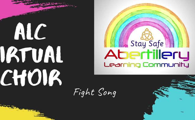 ALC Virtual Choir Performing - 'Fight Song'