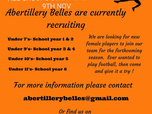 Abertillery Bells - Women & Girls Football