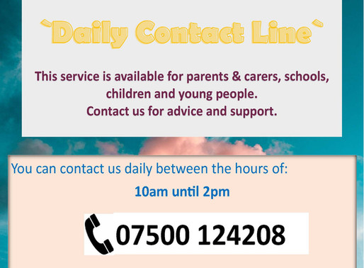 School Nurses - Daily Contact Line