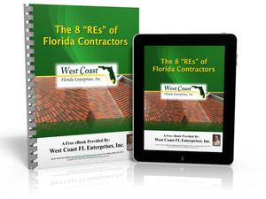"Free eBook: ""The 8 RE's of Florida Contractors"""