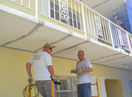 Concrete, Expansion Joint, and Structural Repairs