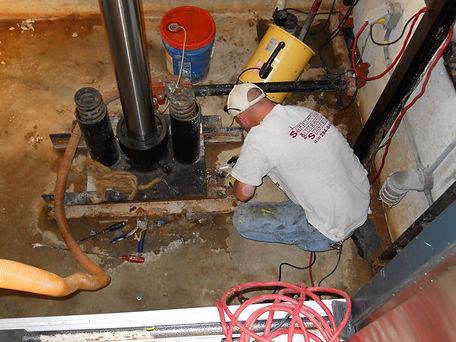 Elevator pit waterproofing - Naples, FL
