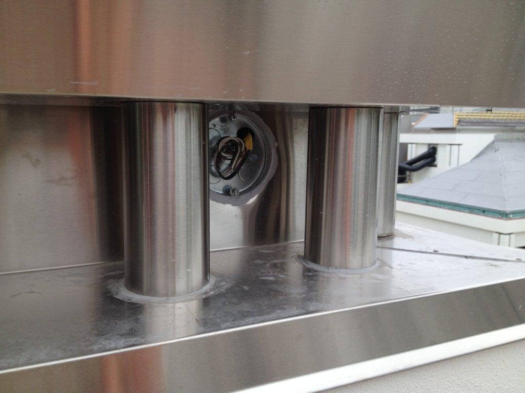 Custom welded vent piping