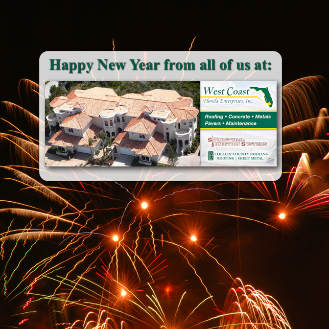 Happy New Year From West Coast Florida Enterprises
