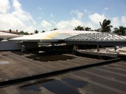 Naples Beach Hotel roof truss