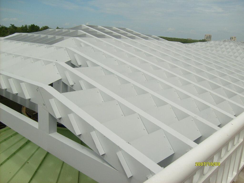 Esperia Welded Aluminum Trellis