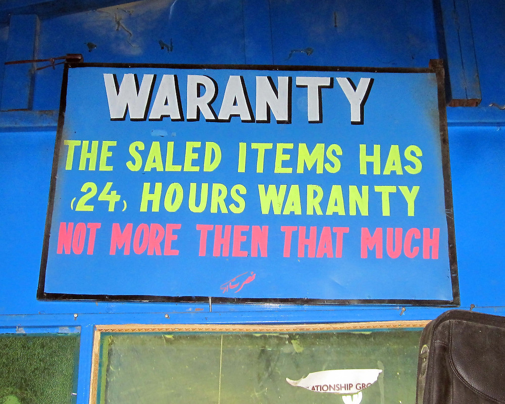 Metal roofing warranty