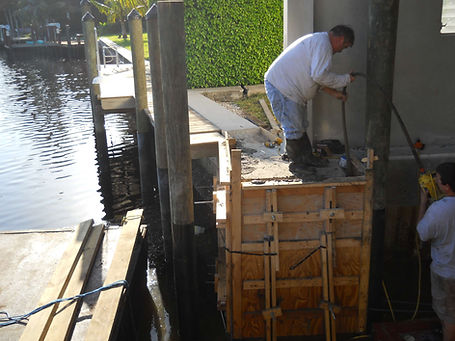 Seawall Restoration - Naples, FL