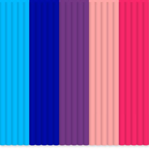 3d Printer Consumables Nice 3doodler Create Mix Color Pla Pack Bubblegum 3d Printers & Supplies