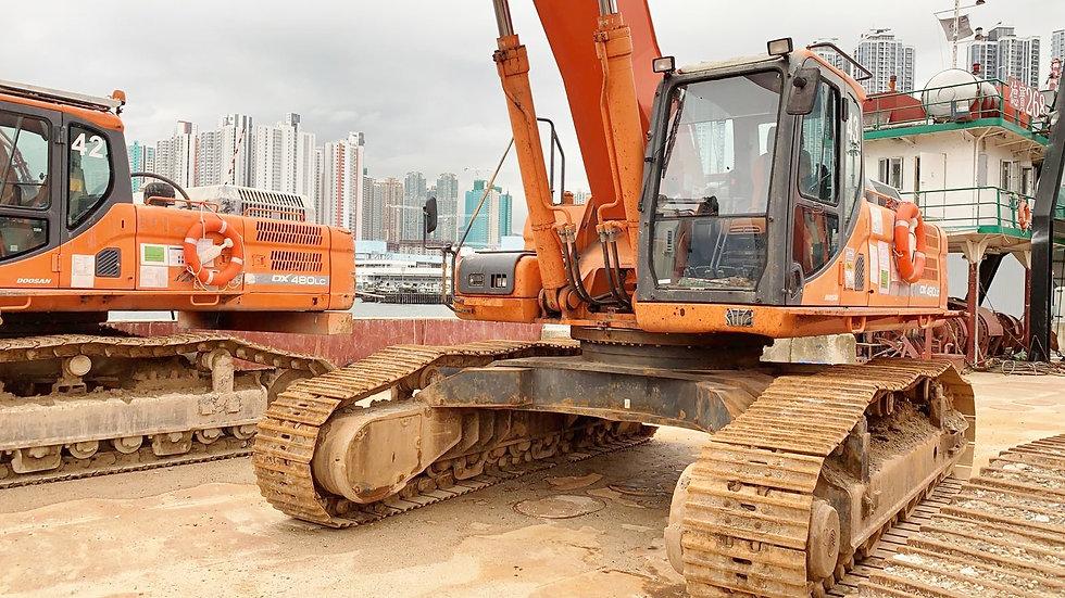 TBC Doosan DX480LC Excavator w/ SLR