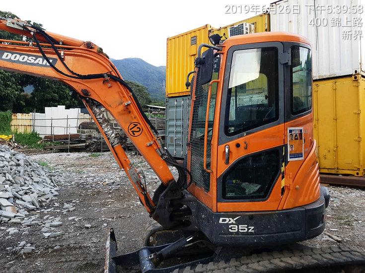 2014 Doosan DX35Z Excavator
