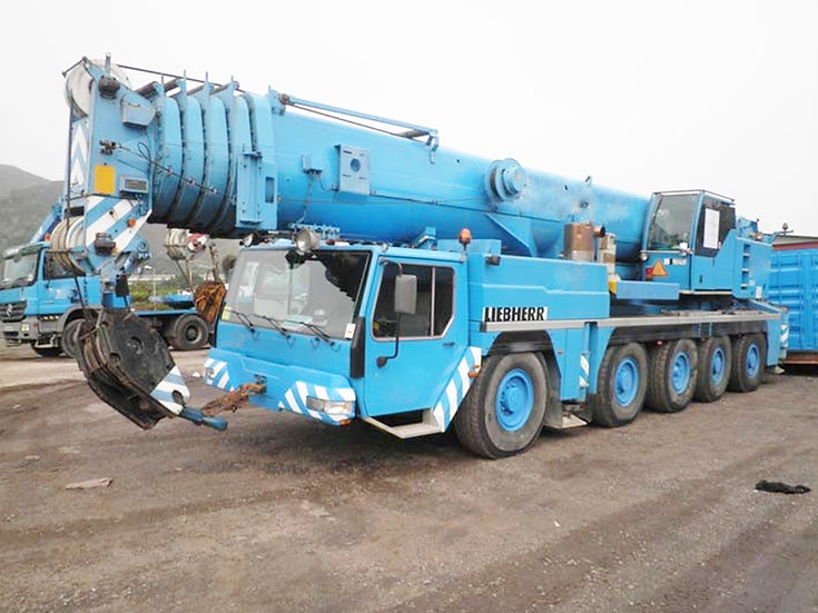 2002 Liebherr LTM1200/1 Terrain Crane