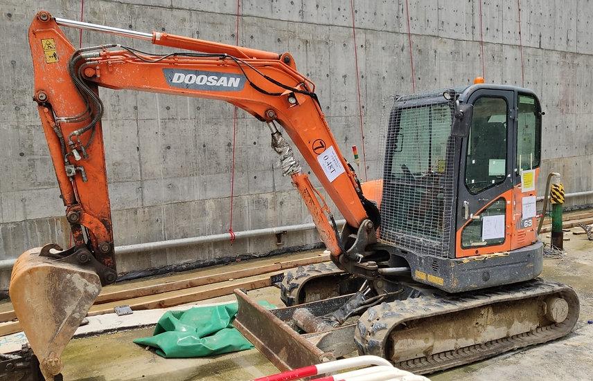 2014 Doosan DX63R-3 Excavator