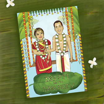 Deepti and Sanjeev