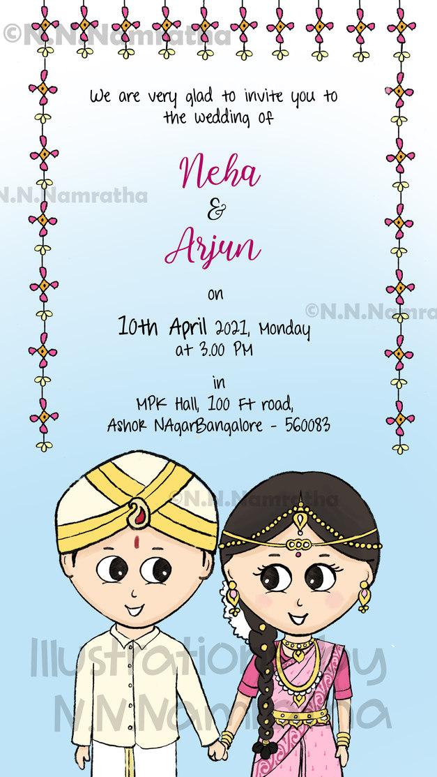 Karnataka Wedding Invite