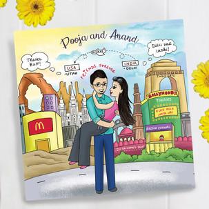 Pooja and Anand