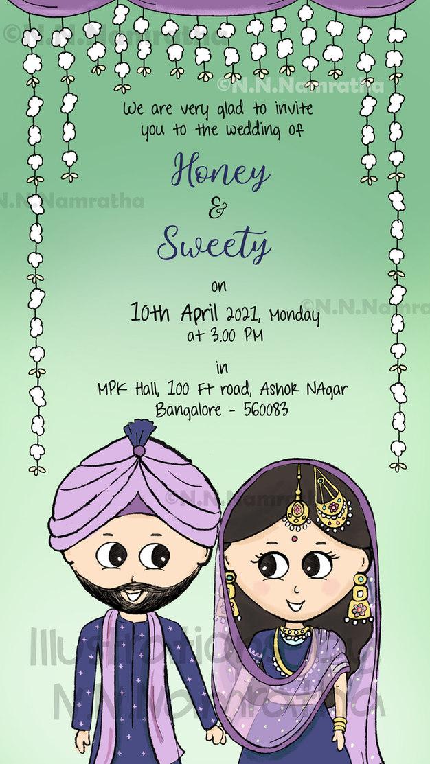 Sikh Wedding Invite