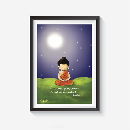 Buddha Wall Art  These wall arts will make your wall smile :)