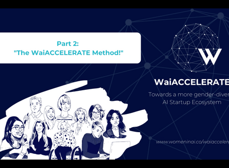 WaiACCELERATE - Towards a more gender-diverse AI Startup Ecosystem