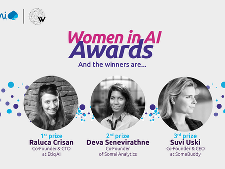 2ND WOMEN IN AI AWARDS RECOGNISES WOMEN-LED TECH STARTUPS IN EUROPE