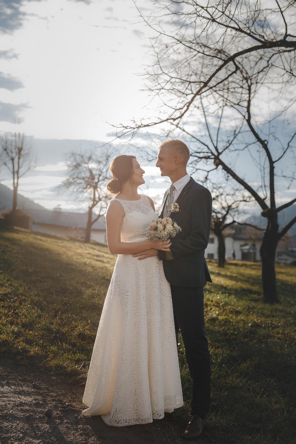 Heiraten im Winter: Hochzeit in Hof bei Salzburg