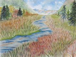 Ruisseau alpin