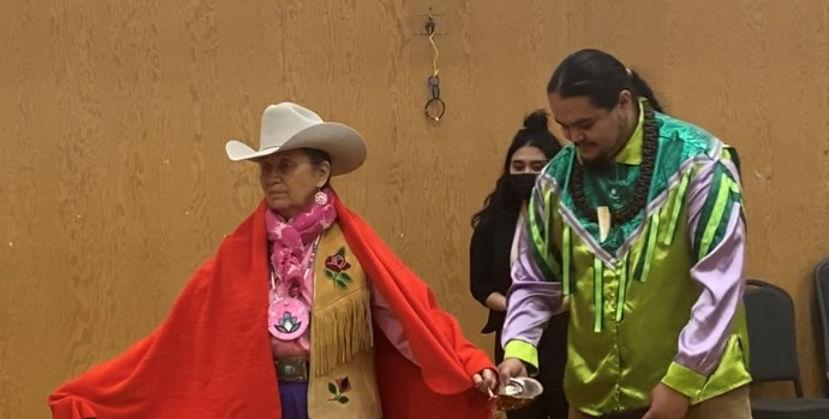 Blanketing Ceremony Joan Gentles.jpg