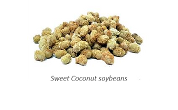 sweet coconut soybeans