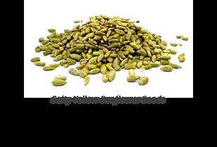 salty yellow sunflower seeds