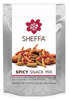 spicy snack mix 170 gr