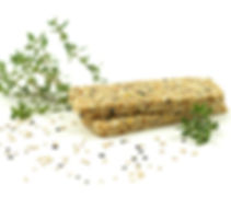 A glense of our TAILOR MADE Savory Protein Crunch