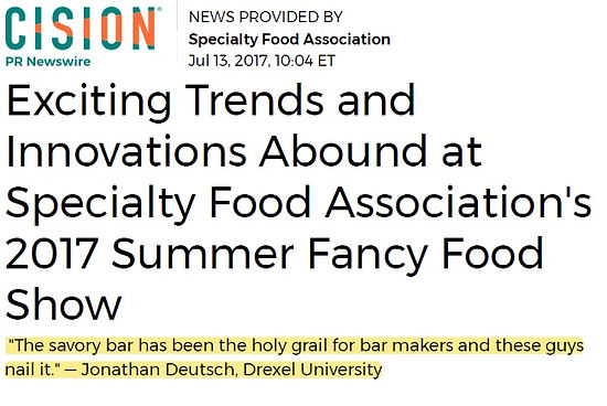 SAVORY BAR article