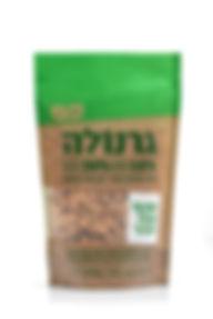 transparnt green granola