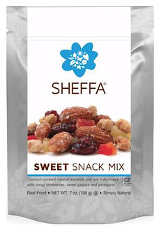 sweet snack mix 198 gr
