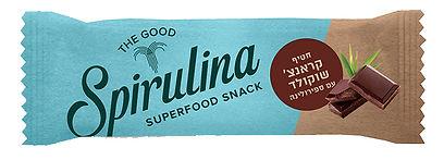 spirulina super food snack - Crunch Chocolate