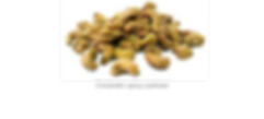 cariander spicy cashews