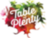 logo table of plenty