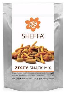Zesty snack mix 170 gr