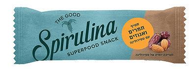 spirulina super food snack - Dates and nuts