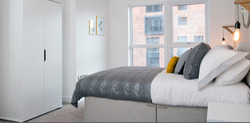 Bespoke Bed Grey